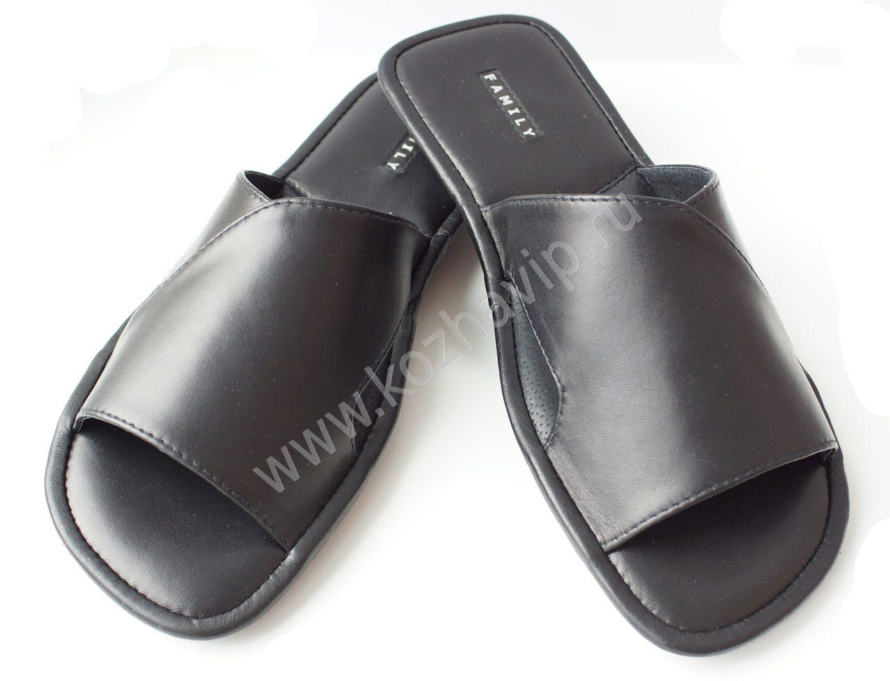 4580a31b5d0a1 домашние кожаные тапочки Family, мужские тапочки купить|тапочки фото ...